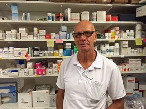 Leif Isaksson, sjuksköterska från Strömsund, deltar i arbetet mot ebolaepidemin.