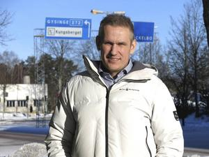 Gustav Björkman 40 år.