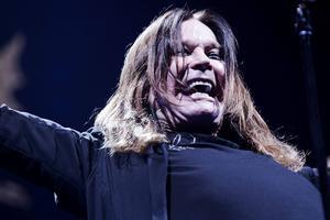 Ozzy Osbourne och hans återförenade Black Sabbath är dragplåster på årets Sweden Rock Festival och en av festivalens dyraste bokningar någonsin.   Foto: Per Folkver/AP/TT
