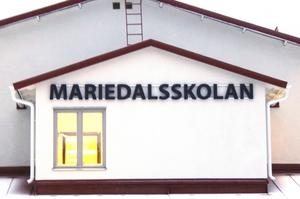 Mariedalsskolan.