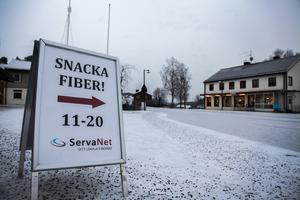 Det pratas mycket fiber i Bispgården – men mest handlar det om frågetecken.