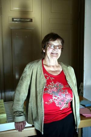 HJÄLPA ANDRA. Karin Wibe, 78 år, värnar om kyrkans sociala arbete