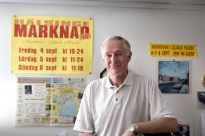 Hasse Bäckström marknadsgeneral för Hälsinge marknad.