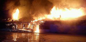 Brand i Migrationslokaler i Arboga