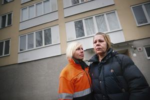 Eija Sarajärvi och syster Tarja Sarajärvi, döttrar till Aukusti.