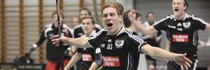 Thomas Norman kommer tillbaka till Köpingsinnebandyn. Den här bilden är från säsongen 2009-10.