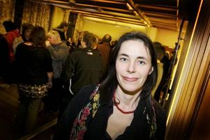 Kulturdebatt. I går debatterades den nya kulturutredningen i Sandvikens Folkets hus. Karin Forsgren, filmkonsulent, är orolig att kulturen inte ska få existera för sin egen skull.