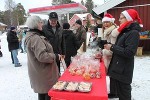 Arkivbild från julmarknaden i Ramsjö 2014.