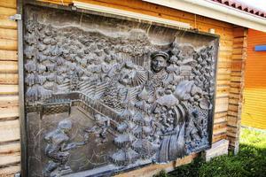 Snoddasreliefen ska enligt uppgift upp på ett av varuhusens fasader.