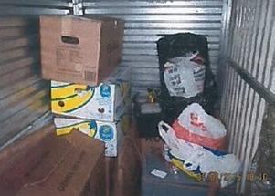 Den danska polisen hittade ett flertal kartonger med kulturföremål i förråd i Köpenhamn.