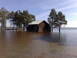 Vattennivåerna i Hammerdal med omnejd stiger.