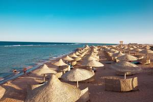 Nu överger turisterna Egypten.