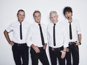 Dagens Boppers består av, från vänster, Kenneth Björnlund, Ingemar Wallén, Matte Lagervall och Sirjo Benigh.