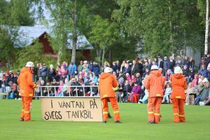 I Härdal får de vänta på Sveg....
