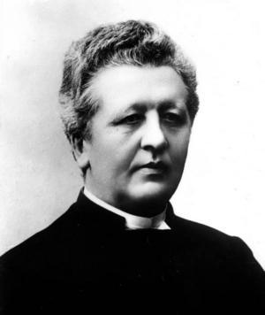 GUDFRUKTIG. Lennstrands gamle kristendomslärare, frikyrkopastorn P P Waldenström, blev en av hans bittraste fiender.