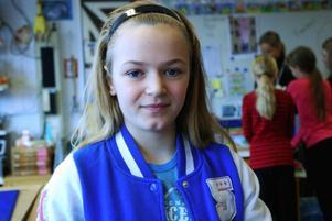 Isabelle Gustavsson, 10 år, tyckte att besöket var jättekul.