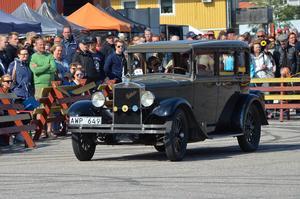 Olle Fors från Hudiksvall visade upp sin Studebaker från 1927.