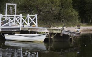 Här hittades Aki Paasila död i vattnet sommaren 2015.