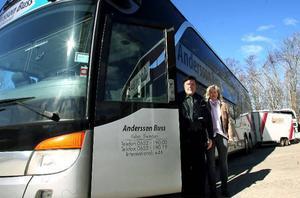 Andersson Buss är ett genuint familjeföretag. Ägs och drivs idag av Örjan Andersson och Liv Andersson.