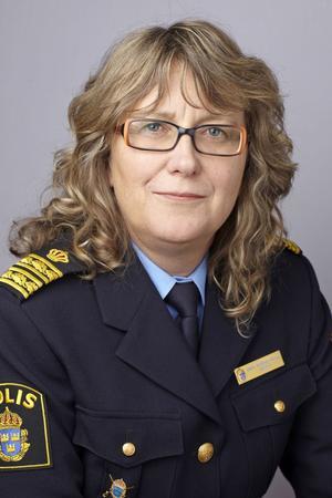 Medveten om problemen. Ebba Sverne Arvill, länspolismästare i Örebro.