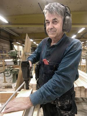 Lennart Persson är den verklige veteranen som började hos Gunnarsson & Co 1961.