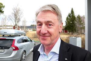 Anders Ericsson, vd för Jämtkraft var inbjuden.
