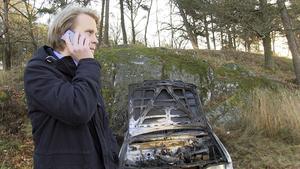 Anders Sjögren fick bara vara bilägare i fyra dagar innan hans fordon sattes i brand.