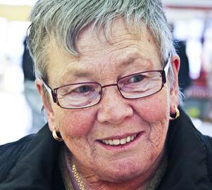 Ingalill Andersson, 70 år, pensionär, Kilafors- Jag visste inte ens att det är kvinnodagen, så jag kommer inte att göra något speciellt.