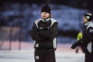 Simon Hansson var besviken efter förlusten. Arkivfoto.