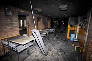 Den 2 januari brann stora delar av Föreningarnas hus i Marma upp.