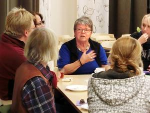 Erfarenheter från frivilligarbetet med flyktingar i Krokoms kommun togs upp på en nätverksträff i måndags.