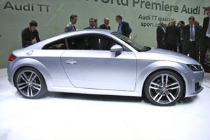 Audi TT. Foto: Helena Lundberg