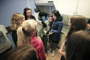 Irada Lundgren är tacksam för att klasskompisarna engagerat sig för att systrarna ska få stanna i Strömsund.