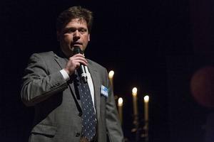 Thomas Andersson från ABB höll invigningstal.
