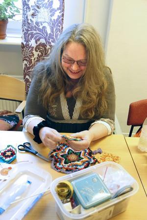 Anette Eriksson har arbetstränat på Hantverket det senaste året.