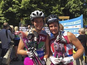 Sollefteå Skidor tog genom Jenny Solin och Britta Johansson Norgren ett silver när SM i sprintstafett avgjordes i Norrköping för en månad sedan.