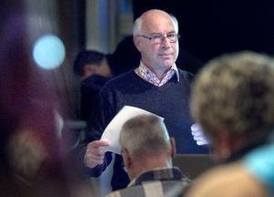 Bo Per Larsson från Sveriges kommuner och landsting, SKL, talade om regionfrågorna.