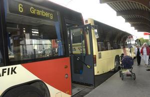 Antalet resor ökade mest på Granbergslinjen – där antalet bussturer också utökades mer än i övriga stadstrafiken.