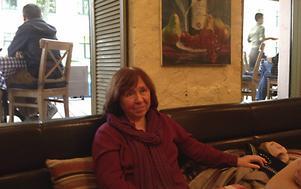 Svetlana Aleksijevitj i Minsk