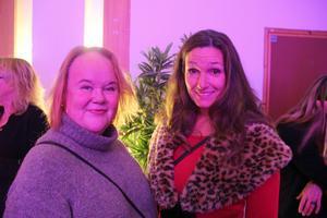 Vem av Anna Ericsson och Carina Wassberg som var den största supportern av Lisa Miskovsky var enkelt att lista ut.
