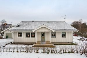 4 871 klick på Hemnet under vecka 1 innebar en sjätteplats på Dalarnas Klicktoppen för denna villa i Svärdsjö. Foto: Christofer Cederberg