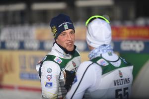 Calle Halfvarsson vid ett tidigare tillfälle. På torsdagen meddelades att han står över lördagens femmil i Holmenkollen. Foto: Fredrik Sandberg/TT.