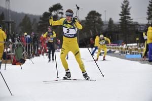 Alfred Eriksson var nära prispallen i lördagens tävling.