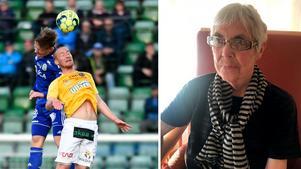 Tidigare brukade gästkrönikören Anita Alm med stor glädje se GIF Sundsvalls matcher på plats. Nu följer hon resultaten via radio eller text-tv.