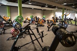 Med en lokalyta på 1500 kvadrat och vikter och maskiner i överflöd menar Philip Lindström att det kommer att gå bra med ett nytt gym i Falun.