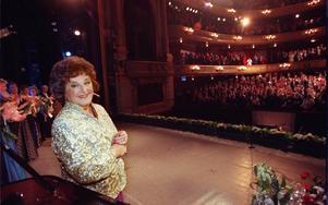 Foto: Gunnar SeijboldArkivbild på en 80-årsjubilerande Birgit Nilsson som firades på Kungliga Operan.