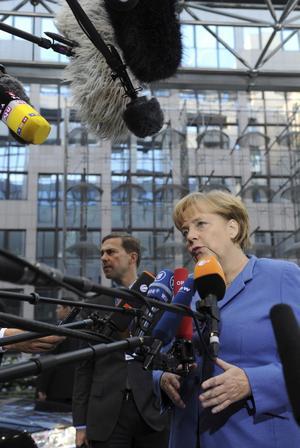 Fördragsändrare. Tyska förbundskanslern Angela Merkel anser att EU:s fördrag behöver ändras igen.