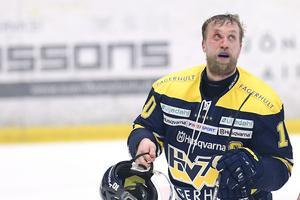 HV71:s lagkapten Martin Thörnberg missade den sjätte kvartsfinalen mot Färjestad.