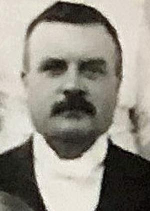 Oscar Åqvist (1870-1954), Jonas Gardells mormors far, vars namn gett upphov till namnet Oscaria. Foto: privat, familjen Åqvist
