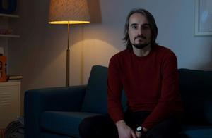Andreas Fock, är programansvarig för filmfestivalen. Foto:  Jan-Åke Eriksson.